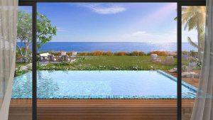 Oceanview Pool Villa Door