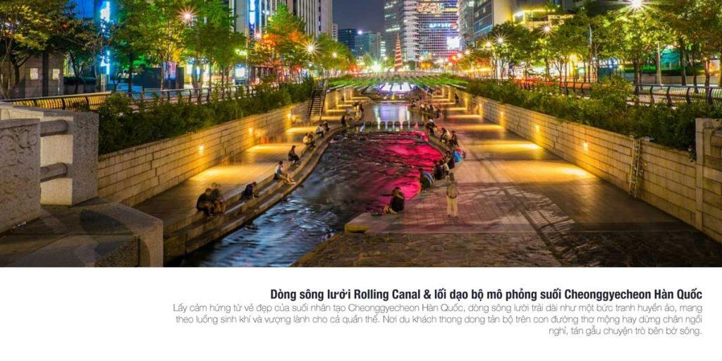 Dòng sông lười Rolling Canal & lối dạo bộ