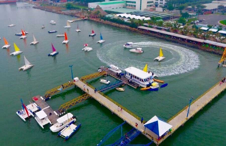 Bến du thuyền Marina rất nổi tiếng tại Vũng Tàu
