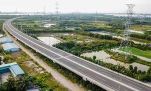 Cao tốc Bến Lức - Long Thành nối liền Long An và Đồng Nai