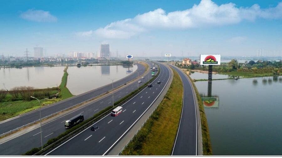 Tuyến đường cao tốc Biên Hòa đến Vũng Tàu có 6 làn xe chạy tiêu chuẩn