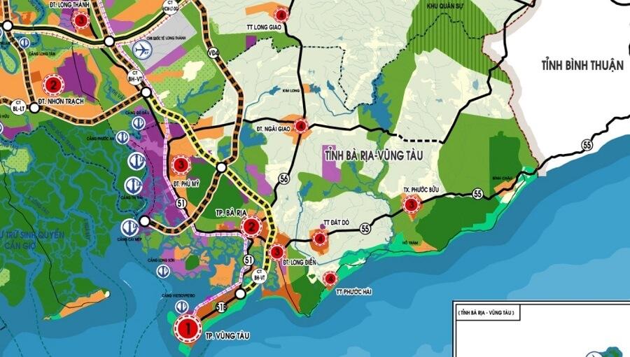 Đầu tư hơn 23.000 tỷ đồng xây dựng đường cao tốc qua Đồng Nai, Vũng Tàu