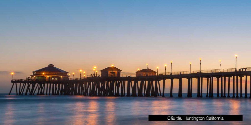 Cầu tàu Huntington California