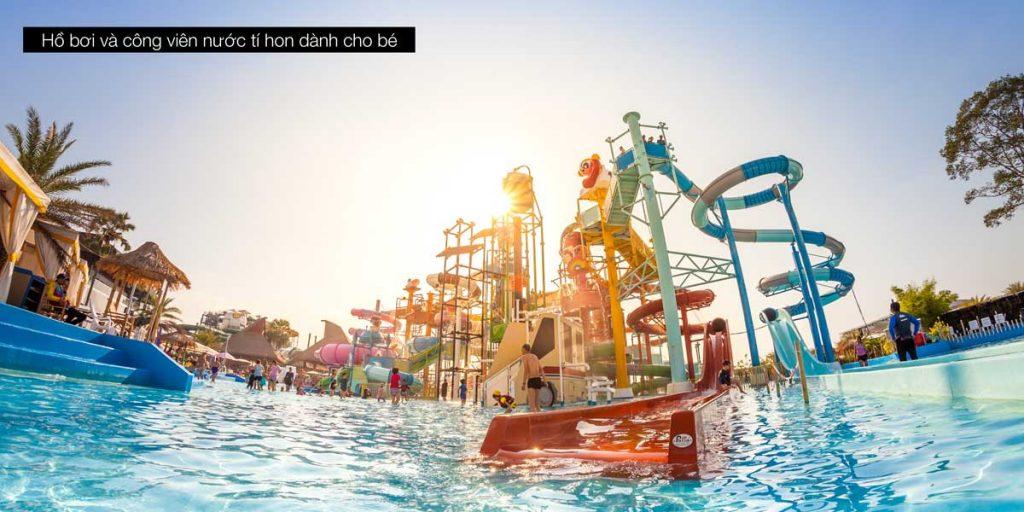 Hồ bơi trẻ em & công viên nước mini-water