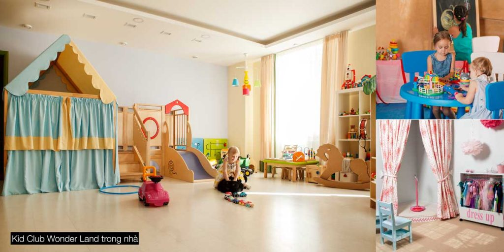 Kid Club Wonder Land trong nhà