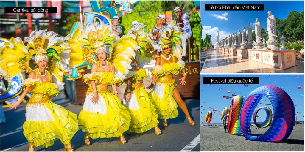 Các lễ hội lớn thường tổ chức tại Vũng Tàu