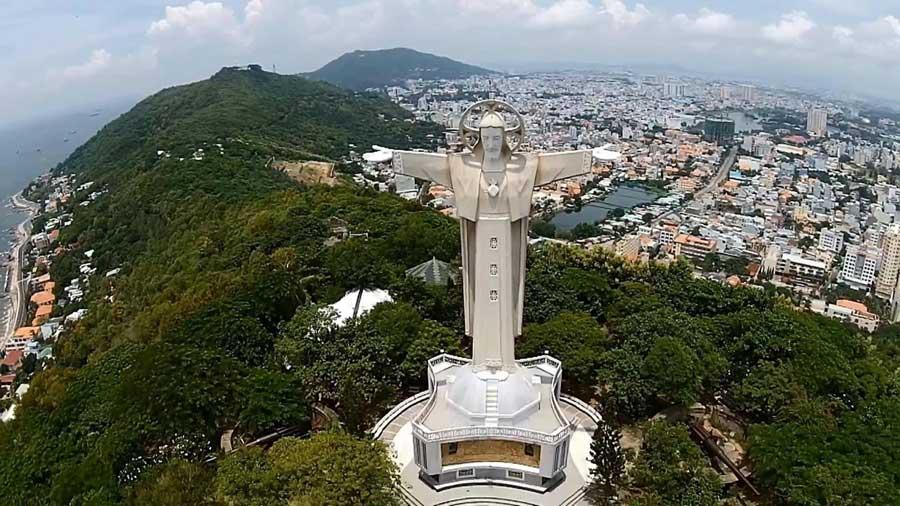 Tượng Chúa Kito lớn nhất Đông Nam Á