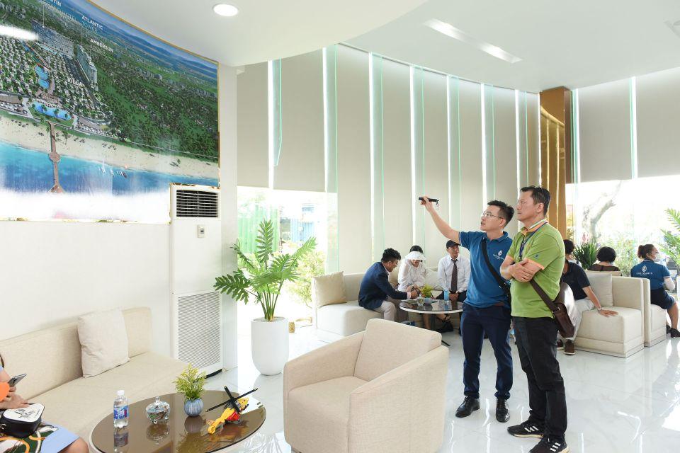 Hình ảnh khải trương văn phòng bán hàng & nhà mẫu The Maris