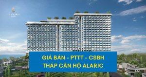 Giá bán, PTTT và CSBH khi mua căn hộ thuộc tháp Alaric