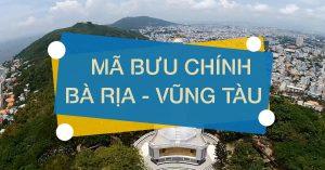 Mã bưu chính (Zipcode) tỉnh Bà Rịa - Vũng Tàu